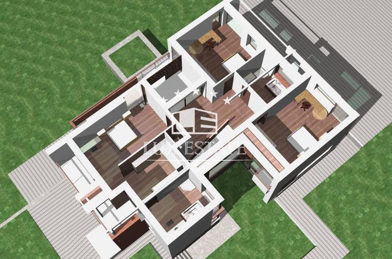 Продам элитный дом в стиле Хай Тек. Большая Даниловка