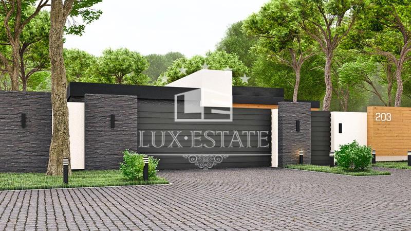 Продам новый дом в стиле Hi-Tech охраняемый коттеджный городок