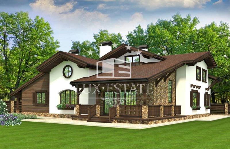 Продам новый дом Шале в коттеджном городке Форест