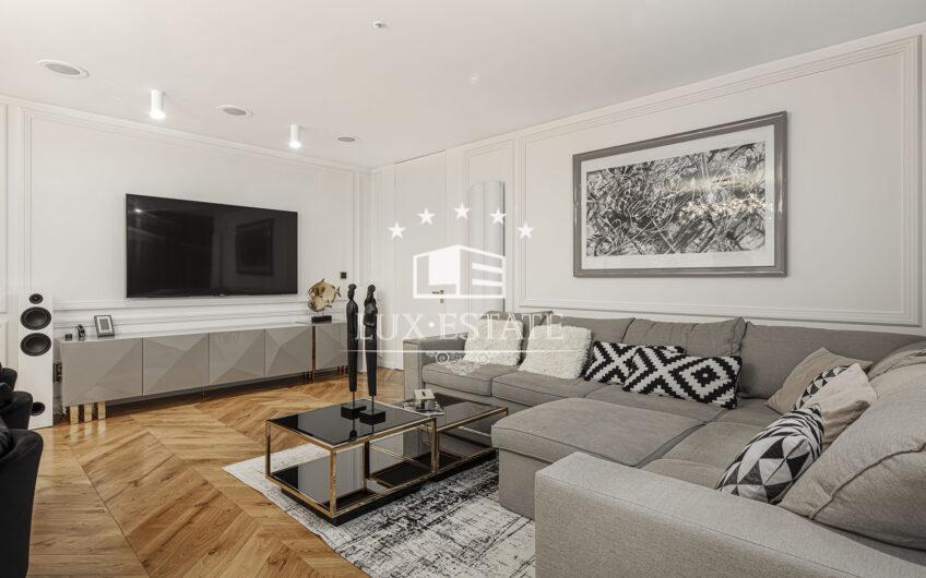 Захватывающий вид и стиль квартиры в ЖК на Павлово Поле