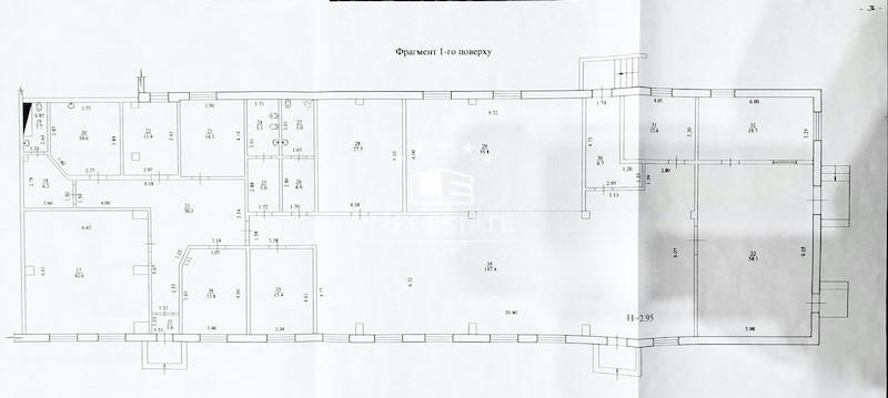Аренда офисно-складского помещения 512,7 м2 в р-не метро  Марсельского