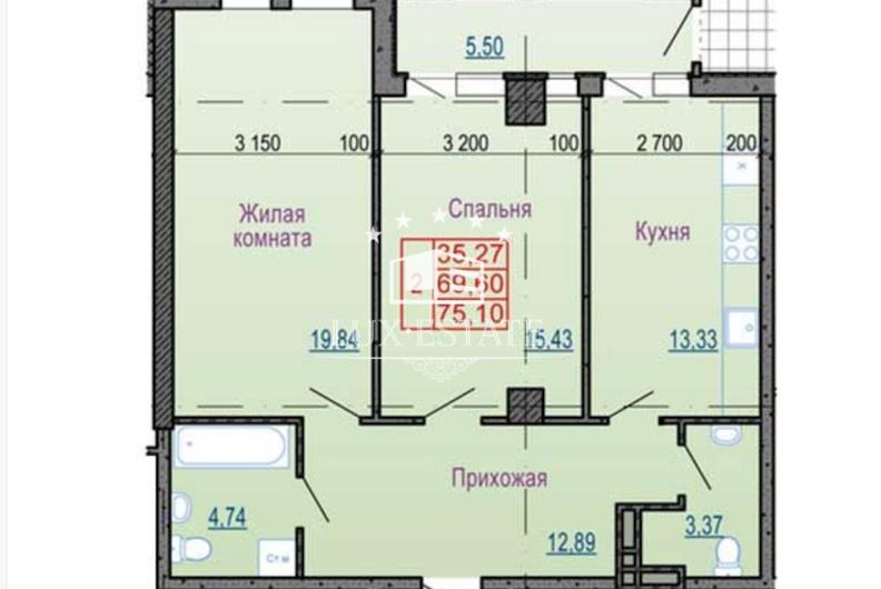 "Отличная инвестиция! 2-комнатная квартира в ЖК ""Павловский квартал"""